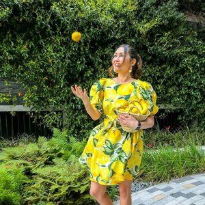 H&M Lemon Dress NWT